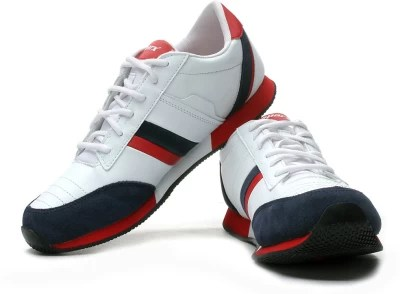 Sparx Running Shoes(Red, White, Blue)