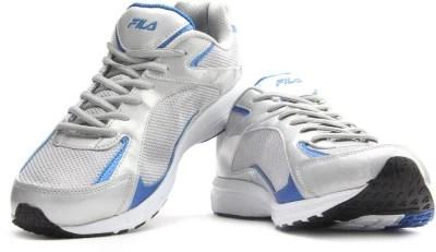 Fila LAMBERTO Running Shoes(Blue, Silver)