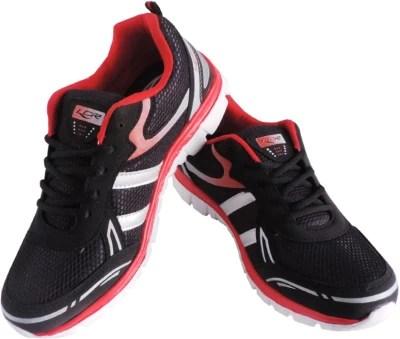 Lancer Crux-Black & Red Running Shoes(Black, Red)