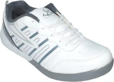 Lancer FJ-847_wht_gry Running Shoes(White)
