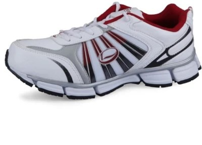 Lancer Fj-1401 White & Maroon Running Shoes(White, Maroon)
