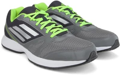 Adidas HACHI 1.0 M Men Running Shoes(Green, Navy, Silver)