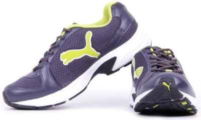 Puma Brent Dp Running Shoes, Training & Gym Shoes(Green, Grey)