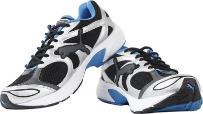 Puma Axis III IND Running Shoes(Black, White)