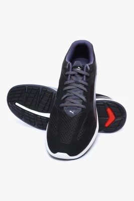 Puma Ignite Mesh Black-Periscope Running Shoes(Black)