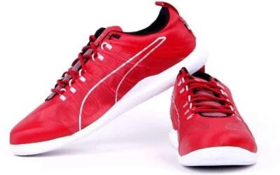 Puma Ferrari Techlo Everfit+ Night Cat Sf Motorsport Shoes(Red)