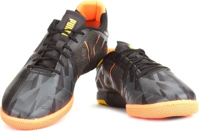 Puma Neon Lite 2.0 Men Badminton Shoes(Black, Orange)