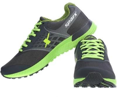 Sparx Trendy Grey & Green Running Shoes(Grey, Green)