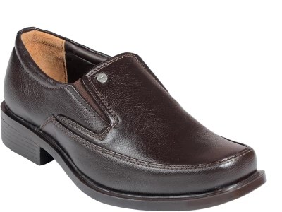 Liberty Men's Formal Shoes Slip On(Brown)