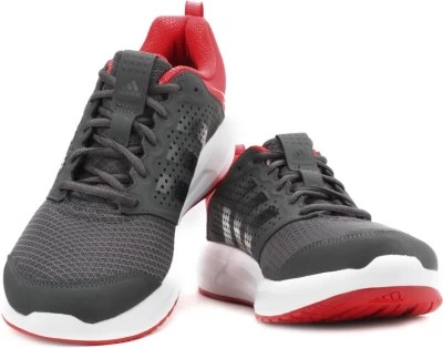 Adidas Men Running Shoes(Black, Red)