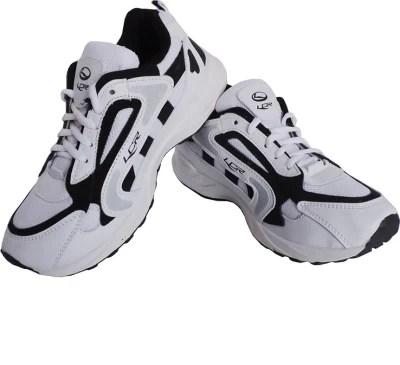 Lancer Lcr Jj-81 White & Black Running Shoes(White, Black)