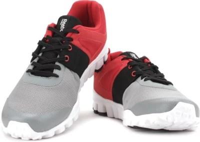 Reebok Men Running Shoes(Grey, Red)