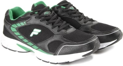 Fila Running Shoes(Black, Green)
