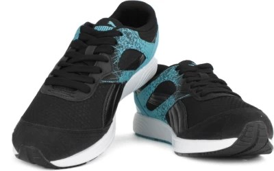 Puma FTR TF-Racer FR Running Shoes(Black, Blue)