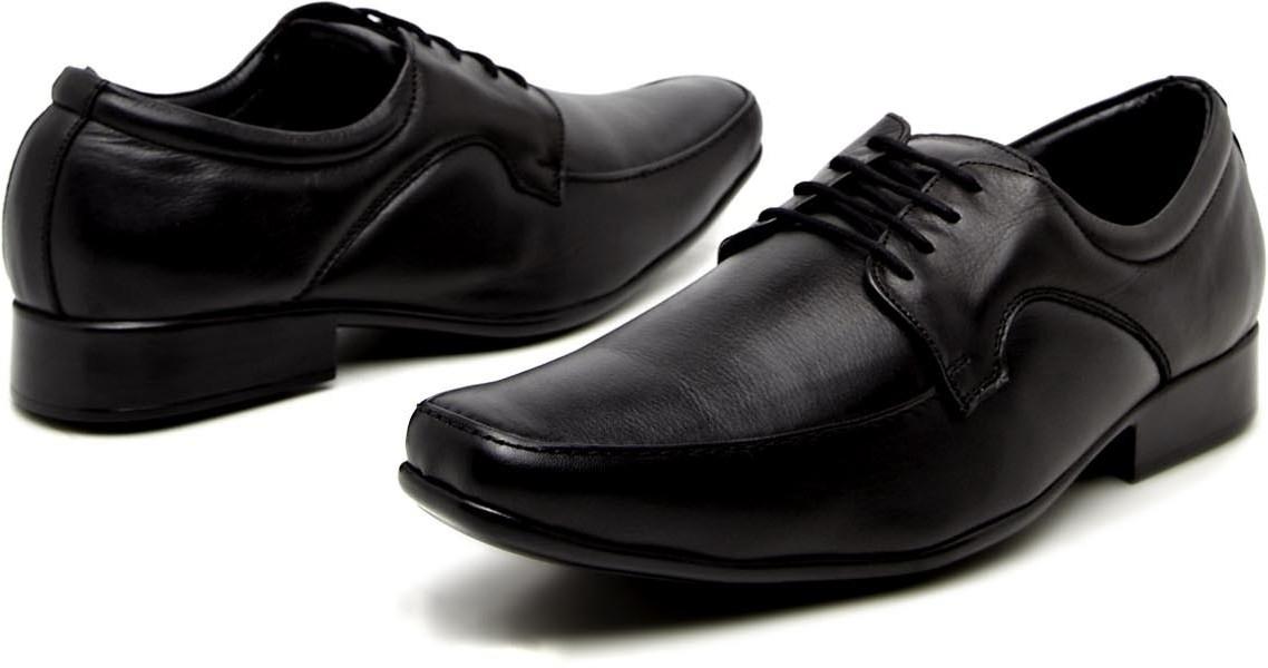 Apaache Comfortable Lace UP Shoes(Black)