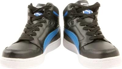 Puma Rebound Ind Training & Gym Shoes(Black)