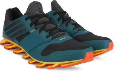 Adidas SPRINGBLADE SOLYCE Men Running Shoes(Black, Blue, Grey)