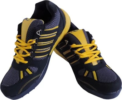 Lancer Lifestyle Running Shoes(Blue, Yellow)