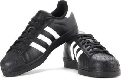 Adidas Men Running Shoes(Black, White)