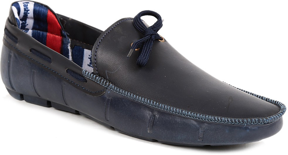 G S Blue Funky Boat Shoes(Blue)