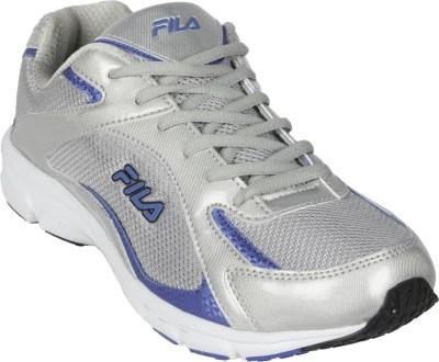 Fila Lamberto Running Shoes(Silver, Blue)