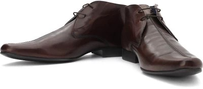 Red Tape Men Genuine Leather Boots(Brown)