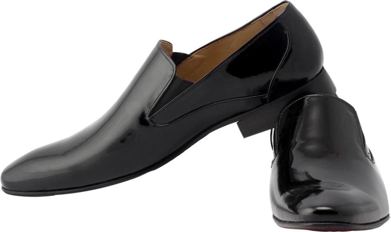 Claude Lorrain Patent Leather Party Wear(Black)