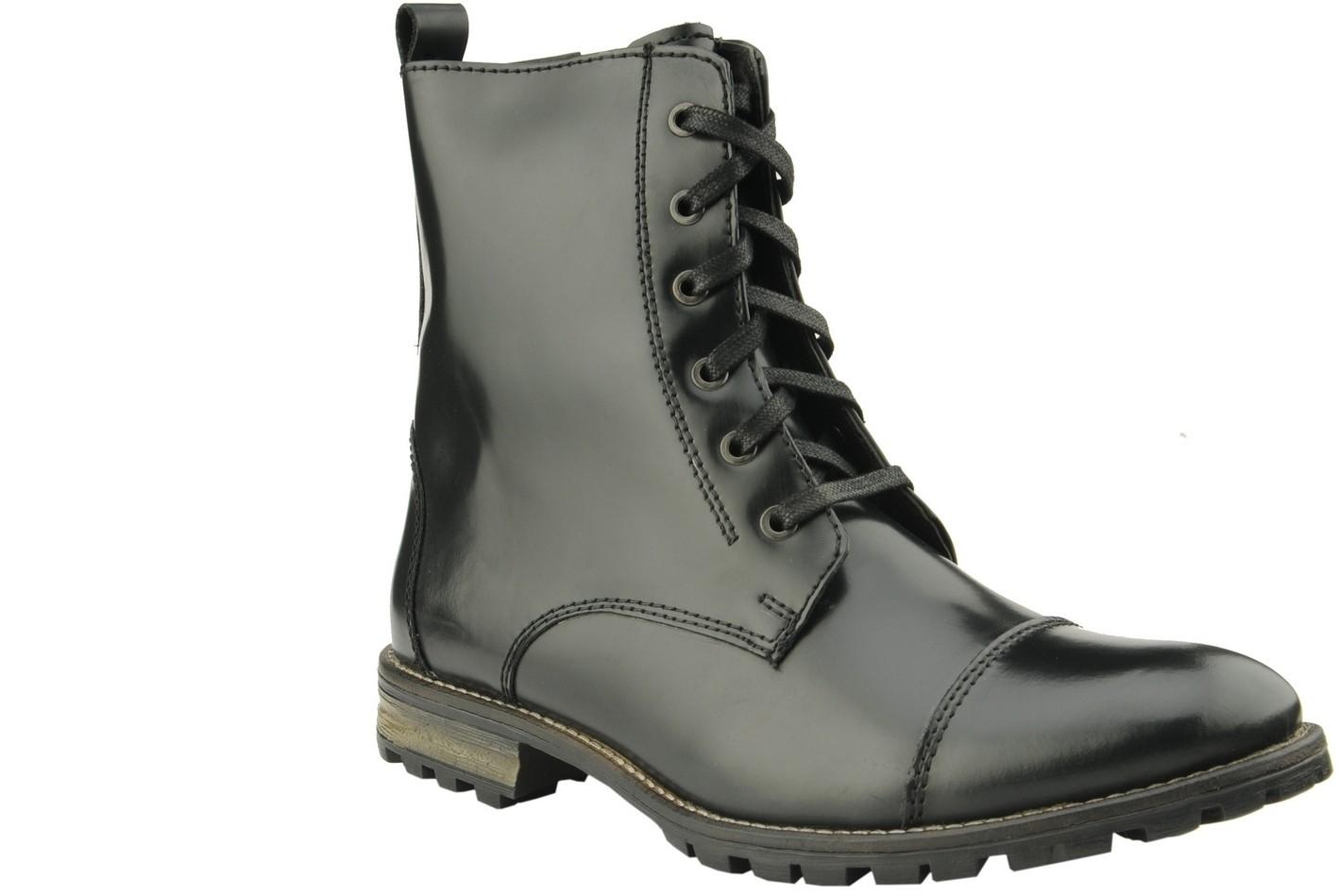 Delize 5056-BLACK Boots(Black)
