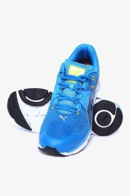 Puma Faas 1000 V1.5 Cloisonn��-Sulphur Spring-Black Running Shoes(Blue)