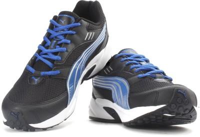 Puma Pluto DP Men Running Shoes(Black, Blue)