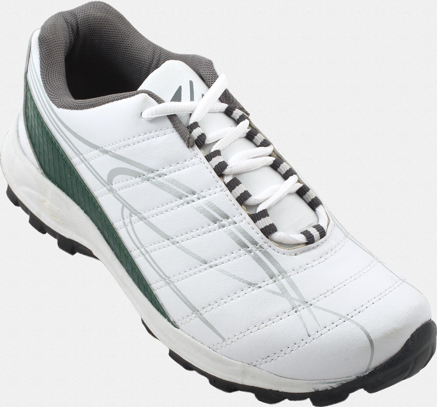 Zovi Sporty White with Silver Highlights Running Shoes(White)