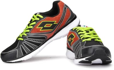 Lotto Flyzone Running Shoes(Orange, Black)