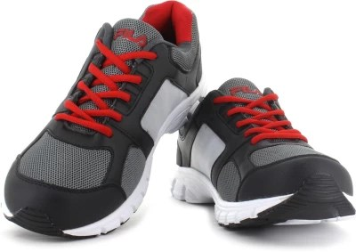 Fila Running Shoes(Grey, Red)