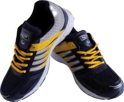 Lancer Cuba_navyblue & Yellow Sport Running Shoes(Blue)