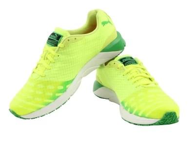 Puma Faas 300 v3 Running Shoes(Yellow, Green)