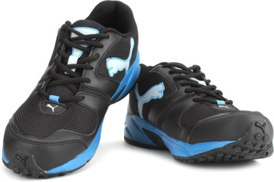 Puma Strike Fashion II DP Men Running Shoes(Black, Blue)