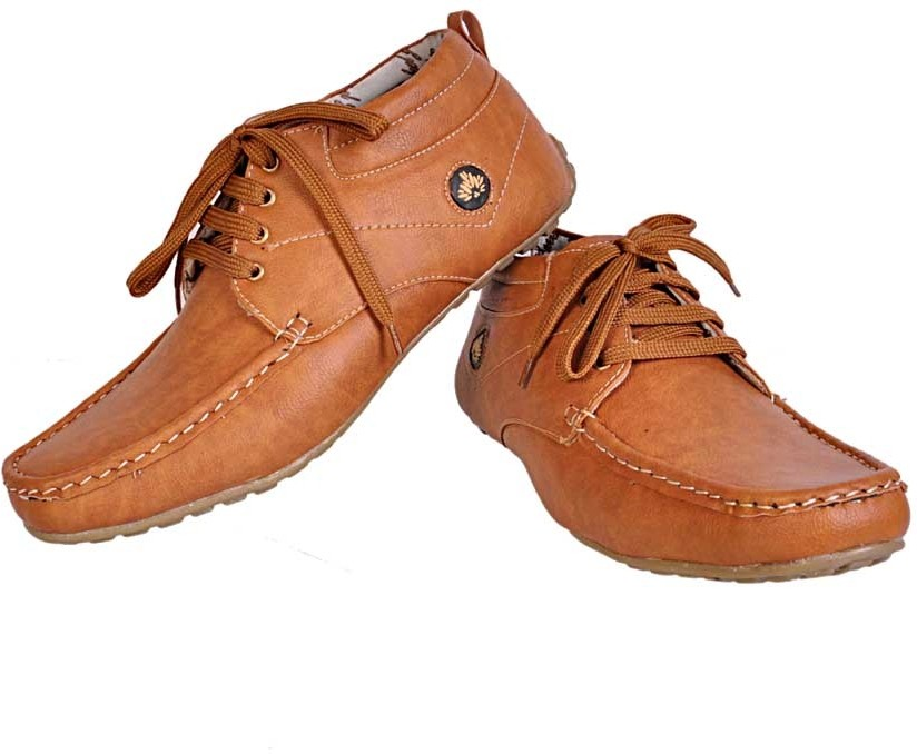 24 Casuals Ankle Casual Shoes(Tan)