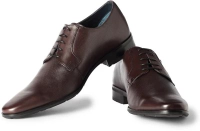 Louis Philippe Lace Up Shoes(Brown)