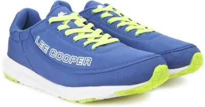 Lee Cooper Men Running Shoes(Blue, White, Yellow)