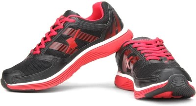 Sparx Running Shoes(Red, Black)
