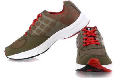 Sparx Running Shoes, Walking Shoes(Olive, Red)