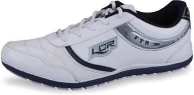 Lancer FJ-833 White & NavyBlue Running Shoes(White, Blue)