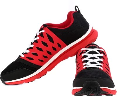 Sparx Awesome Black Red Running Shoes(Black, Red)