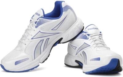 Reebok United Runner Iv Lp Men Running Shoes(White, Blue)