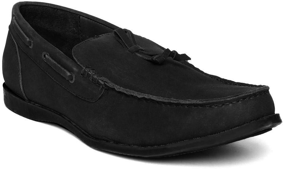 Mast & Harbour Boat Shoes(Black)