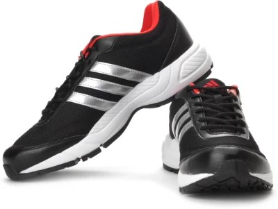 Adidas Phantom 2 M Running Shoes(Black, Red, Silver)