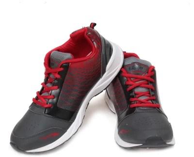 Lancer Running Shoes(Grey, Red)