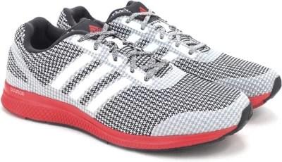 Adidas MANA BOUNCE M Men Running Shoes(Black, White)