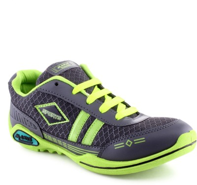 Maxis Hb-01 Green Walking Shoes(Grey)