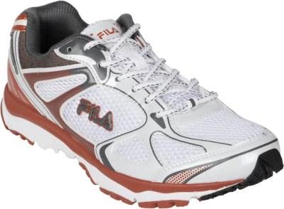 Fila Magnetus Running Shoes(White, Grey, Red)